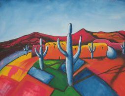 a Pueblo in New Mexico