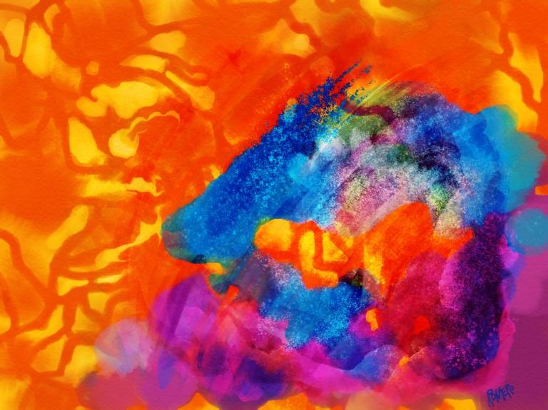 Blue-on-Orange---Sketch-4
